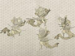 Carta da parati orientale PVC free, eco, lavabileSAMURAI - WALLPEPPER
