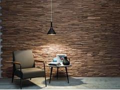 Bruno Parquet, WALNUT CLEAVED Rivestimento tridimensionale in legno di recupero