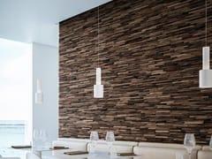 Bruno Parquet, WALNUT EAVES Rivestimento tridimensionale in legno di recupero