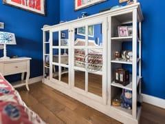 Armadio in legno massello con specchioArmadio 7 - GARDEN HOUSE LAZZERINI