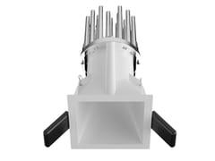 Faretto a LED quadrato in alluminio verniciato a polvereWARP_Q - LINEA LIGHT GROUP