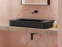 Lavabo da appoggio rettangolare in ceramicaMADRE | Lavabo - CERAMICA FLAMINIA
