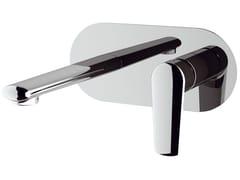 Miscelatore per lavabo a muro con piastra VANITY | Miscelatore per lavabo a muro - Vanity