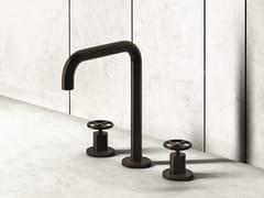 Gruppo lavabo da appoggio a 3 fori FONTANE BIANCHE | Rubinetto per lavabo a 3 fori - Fontane Bianche | Salvatori + Fantini