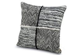 Cuscino in tessuto jacquard WATTENS   Cuscino patchwork - Winter Garden