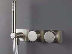 Miscelatore doccia/vasca da parete con deviatore e doccetta WAVE - 1220191/2 - Wave