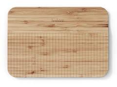 Tagliere in bambù con pattern guida-taglioWAVE | Tagliere - TREBONN