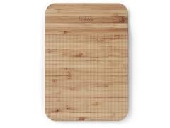 Tagliere in bambù con pattern guida-taglioWAVE | Tagliere rettangolare - TREBONN
