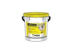 Weber Saint-Gobain, webercote flexcover L Pittura elastica a base di resine elastomeriche