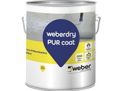 Saint-Gobain Weber, WEBERDRY PUR COAT Rivestimento poliuretanico alifatico monocomponente