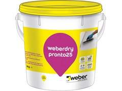 Saint-Gobain Weber, WEBERDRY PRONTO25 Impermeabilizzante a base elastomerica