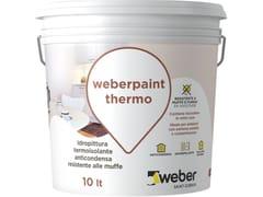 Idropittura termoisolanteWEBERPAINT THERMO - SAINT-GOBAIN ITALIA S.P.A. – WEBER