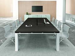 Tavolo da riunione rettangolareJET EVO | Tavolo da riunione - BRALCO