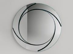 Specchio rotondo da pareteWHIRL - T.D. TONELLI DESIGN
