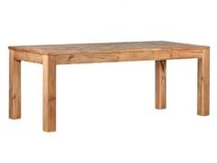 Tavolo da cucina rettangolare in legno masselloWHISPER - ARREDIORG