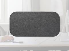 Pannello divisorio da scrivania fonoassorbente in lanaWHISPERWOOL APPS | Pannello divisorio da scrivania - TANTE LOTTE DESIGN