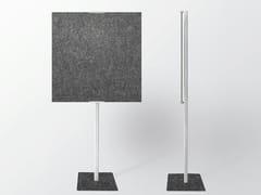 Divisorio ufficio fonoassorbente in lanaWHISPERWOOL OBLONG | Divisorio ufficio - TANTE LOTTE DESIGN