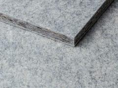 Pannello acustico in lana di pecora per rivestimentiWHISPERWOOL SILVER GREY - TANTE LOTTE DESIGN