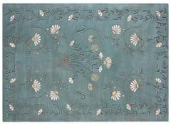 Tappeto a motivi fatto a mano rettangolare in lanaWHITE DAISY - GAN BY GANDIA BLASCO
