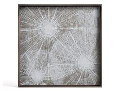 Vassoio quadrato in legnoWHITE SLICE | Vassoio quadrato - ETHNICRAFT
