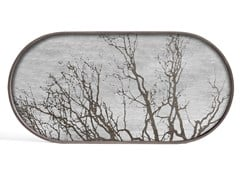 Vassoio ovale in legnoWHITE TREE | Vassoio ovale - ETHNICRAFT