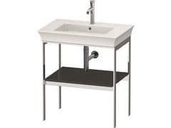 Consolle lavabo da terra singolo in metalloWHITE TULIP WT4540 / WT4541 | Consolle lavabo da terra - DURAVIT
