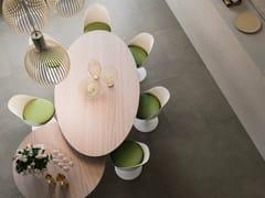Pavimento/rivestimento in gres porcellanato effetto marmoWIDE - CERAMICHE REFIN