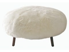 Poggiapiedi in pelliccia sinteticaWILD - PH COLLECTION