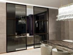 Porta scorrevole in vetro WIND | Porta in vetro - Aluminium Chic