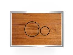 Placca di comando per wc in legnoWOOD P2LT706 - REDI