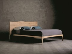 Letto matrimoniale in legno massello WOOD RING 2 - ECOLAB NIGHT