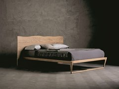 Letto matrimoniale in legno massello WOOD RING 3 - ECOLAB NIGHT