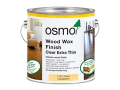 Olio-cera dura Incolore per legno WOOD WAX FINISH CLEAR EXTRA THIN - OSMO HOLZ UND COLOR