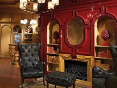 Prestige, GRAN DUCA | Boiserie in ciliegio  Boiserie in ciliegio