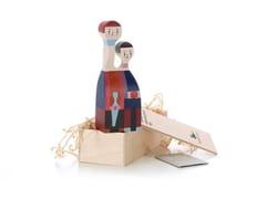 Scultura in legno WOODEN DOLL N.11 - Wooden Dolls