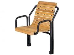 Seduta da esterni in legnoCONTOUR | Seduta da esterni in legno - EUROFORM K. WINKLER