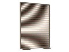 Divisorio in alluminio termolaccato e legnoCELOSÍAS | Divisorio in legno - GANDIA BLASCO