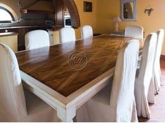Tavolo rettangolare in legno su misuraTavolo in legno 3 - GARDEN HOUSE LAZZERINI