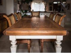 Tavolo rettangolare in legno su misuraTavolo in legno 4 - GARDEN HOUSE LAZZERINI