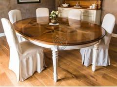 Tavolo ovale in legno su misuraTavolo in legno 6 - GARDEN HOUSE LAZZERINI