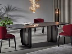 Tavolo rettangolare in legnoFLAME | Tavolo in legno - BONALDO