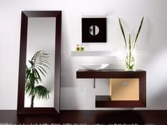 Mobile lavabo singolo in legno con cassettiCOUNTER | Mobile lavabo in legno - CARMENTA
