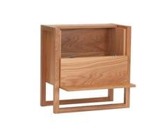 Mobile bar in legno impiallacciatoWOODMAN - NEWEST OAK - ARCHIPRODUCTS.COM