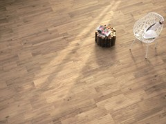 Ergon, WOODTALK BEIGE Pavimento/rivestimento in gres porcellanato per interni ed esterni