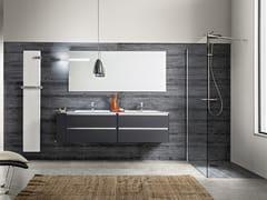Arredo bagno completo in Pietrablu™ WOODY | Arredo bagno completo - Woody