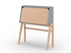 Scrittoio in legno masselloWORKIN - SCULPTURES JEUX
