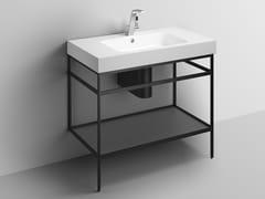 Consolle lavabo in acciaio verniciato a polvereWP.WF100.1 | Consolle lavabo - ALAPE