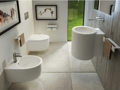 Wc sospeso in ceramicaWTONDO - MOMA DESIGN BY ARCHIPLAST
