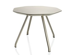 Tavolino ottagonale in MDF da salotto X TABLE | Tavolino - X Table