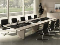 X10 | Tavolo da riunione rettangolare